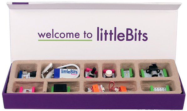 The littleBits intro kit sells for $99.