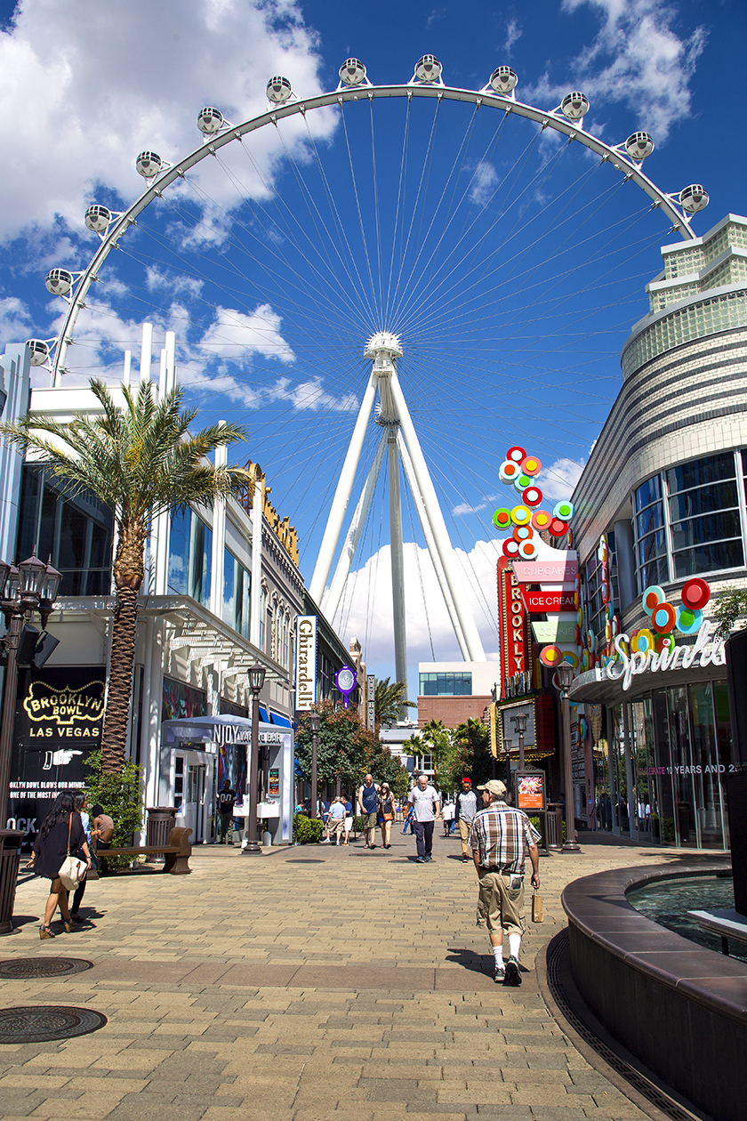 Linq hote, The High roller, observation wheel, Caesars