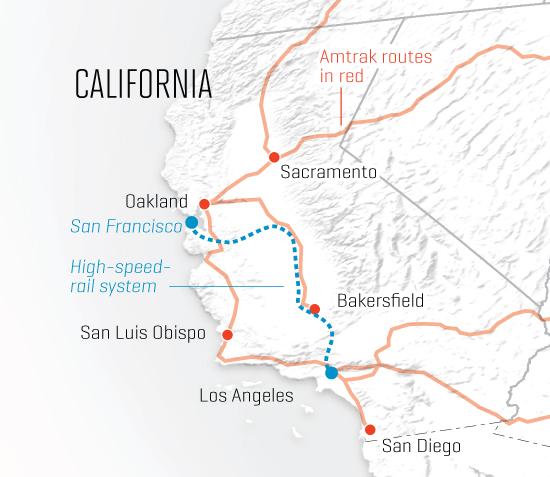 California's bold bid for high-speed rail