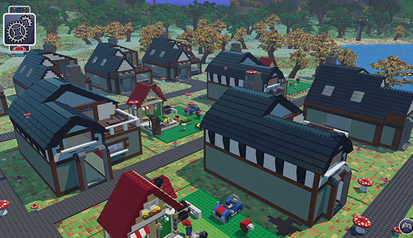 LEGO Worlds is an open environment game made entirely of Lego bricks that can be freely manipulated: almost like a virtual Lego set.