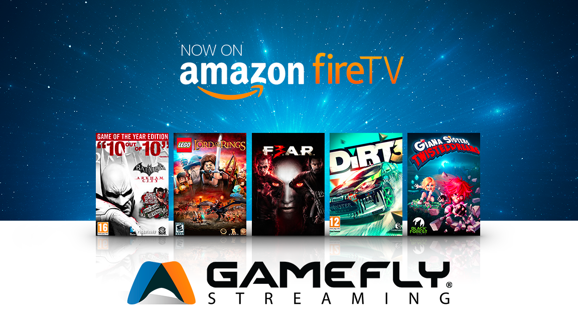 Video game subscription company GameFly partners with Amazon for new cloud-based streaming service