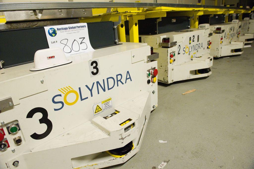 Solyndra LLC Surplus Asset Auction