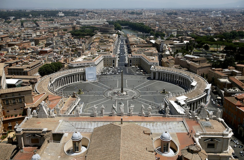 St Peter's Basilica As Vatican Bank Commits to Fight Money Laundering