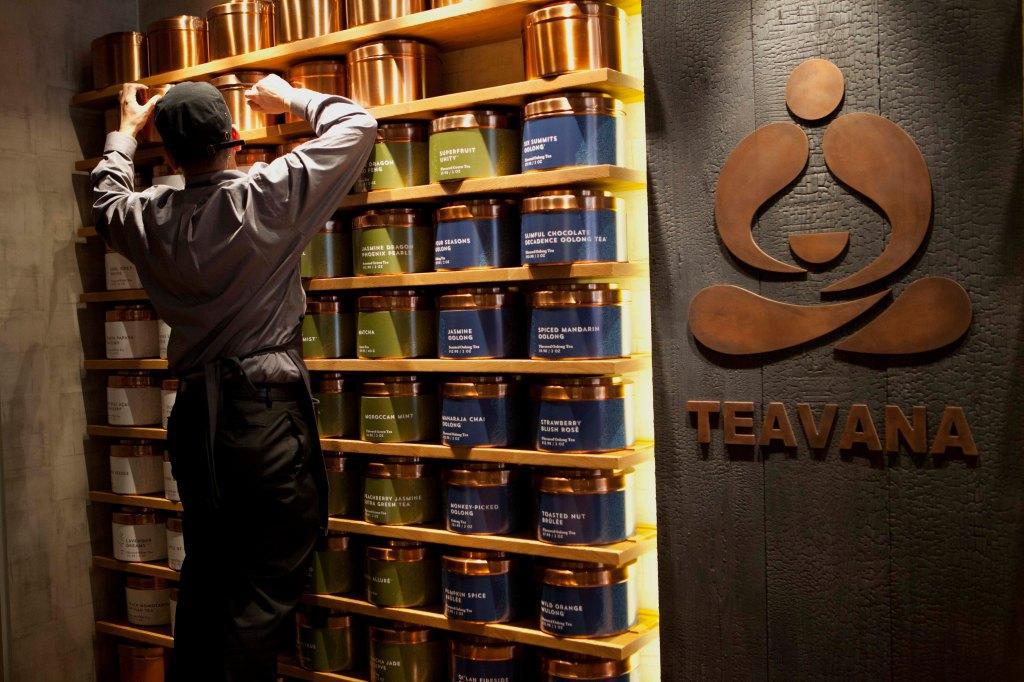 Starbucks To Open Tea Bar In New York In Push Beyond Coffee