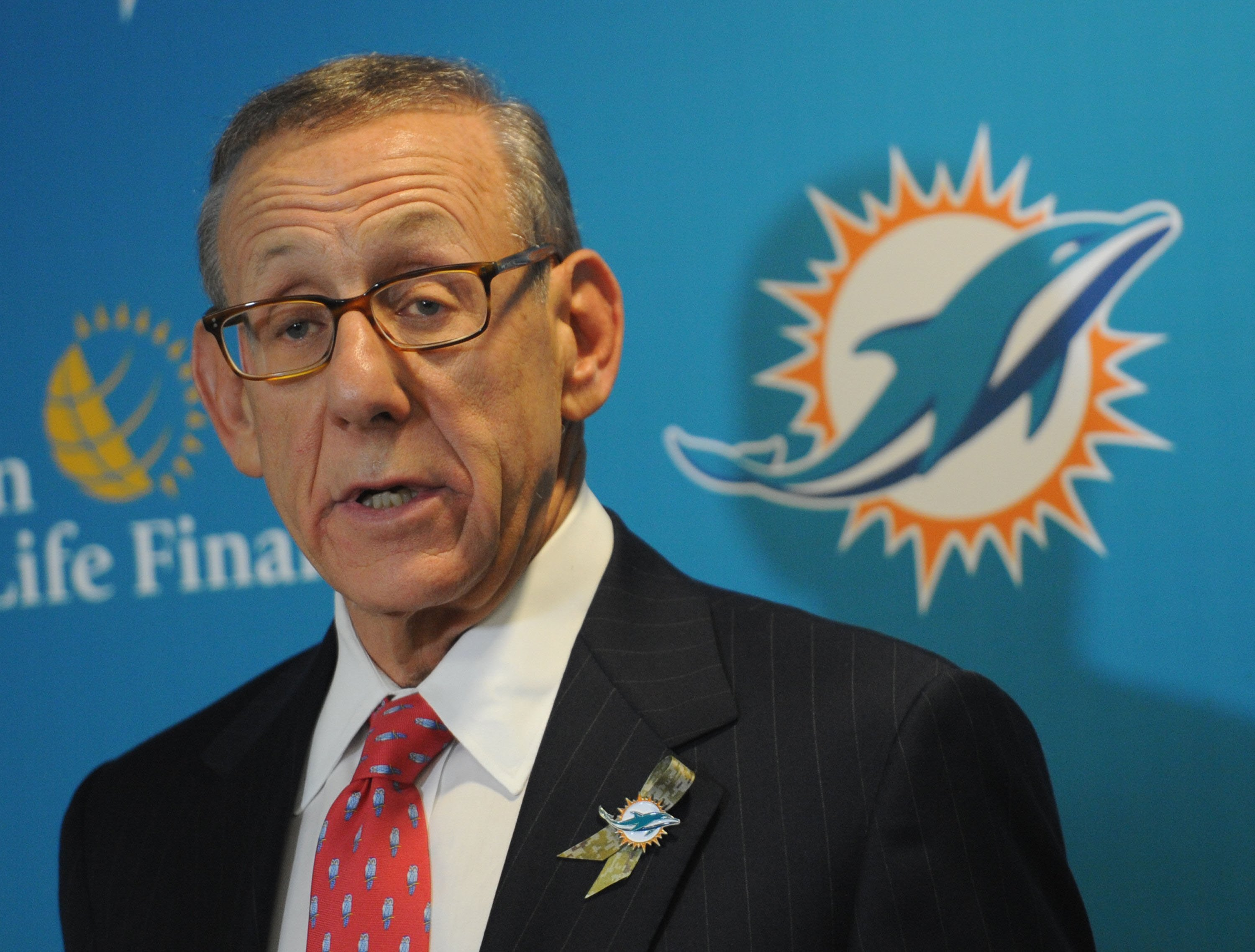 Stephen Ross, owner of the Miami Dolphins.
