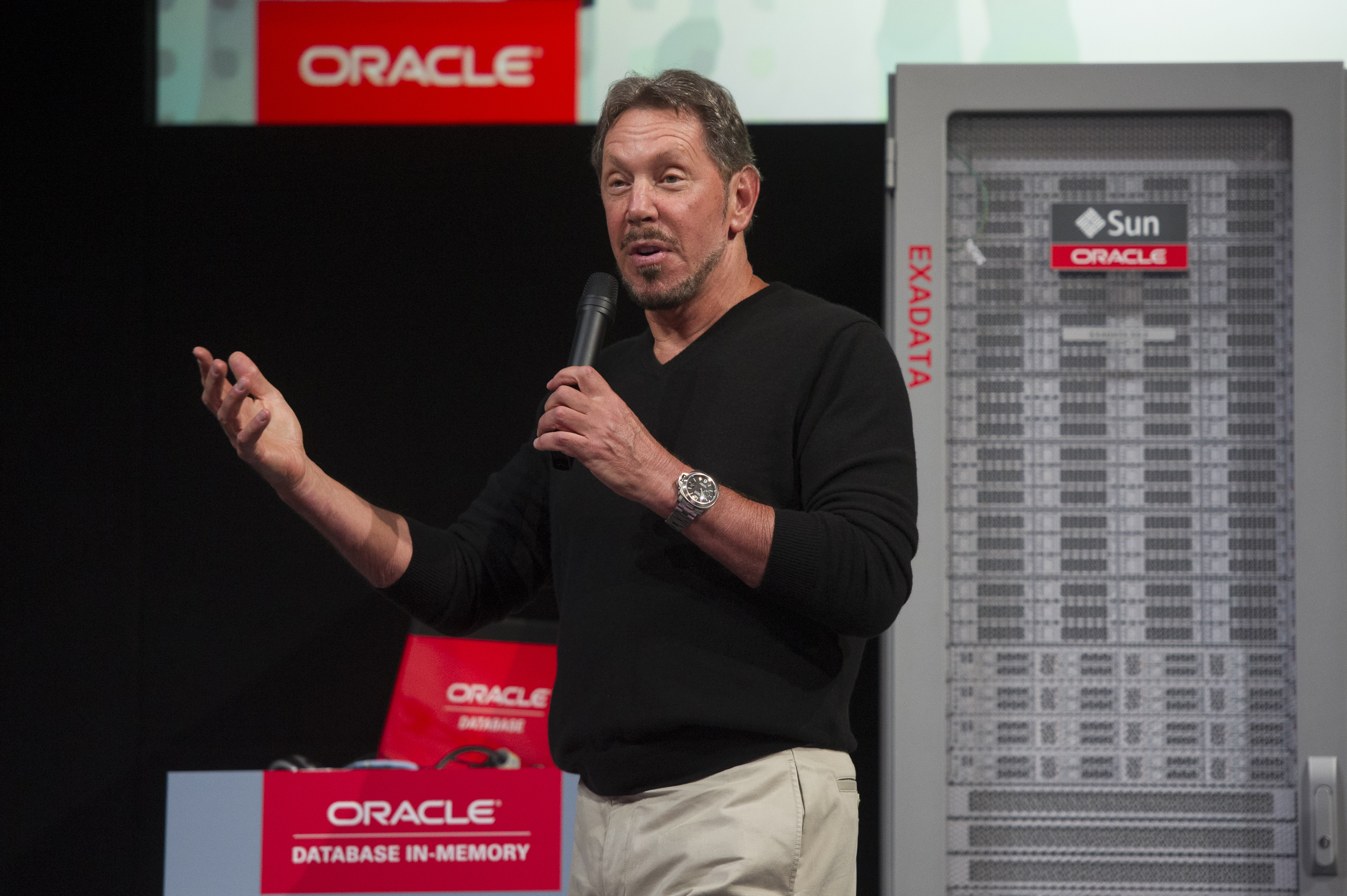 Oracle Corp. Database In Memory Launch