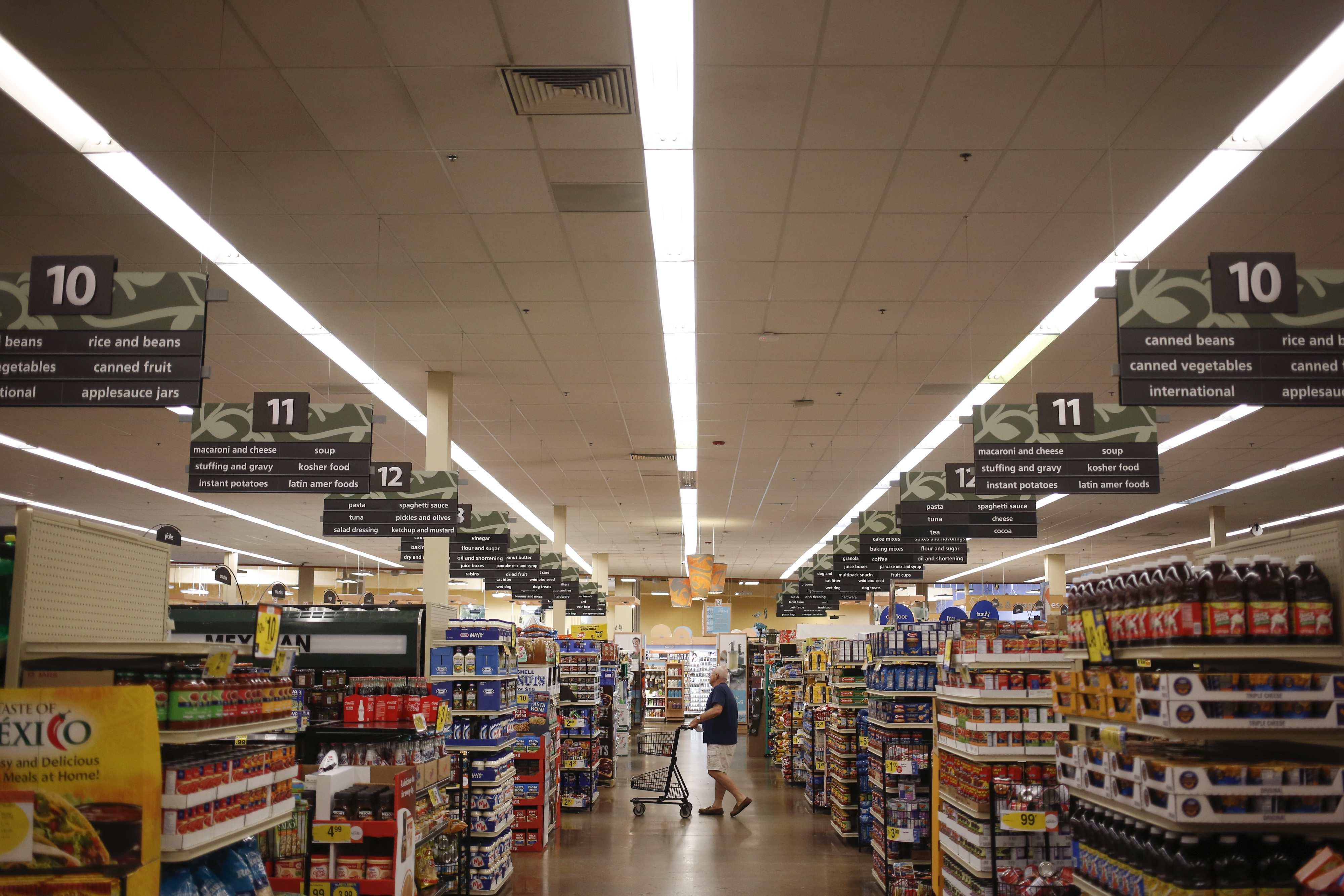 Inside A Kroger Store Ahead Of Earnings Figures