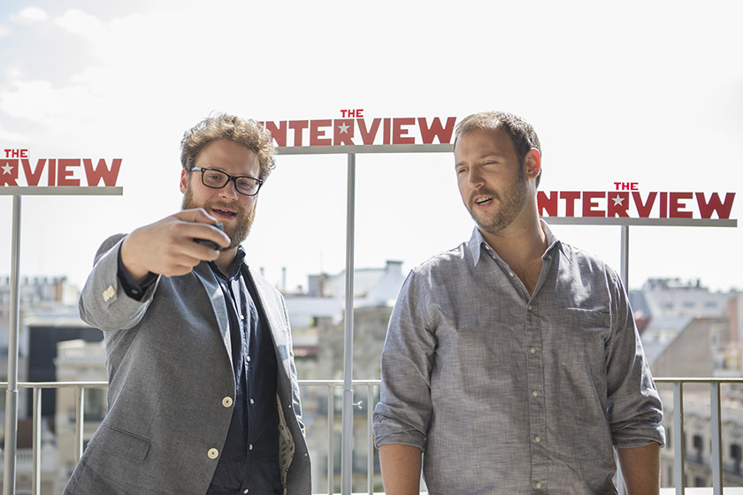 Seth Rogen, Evan Goldberg, The Interview, Sony