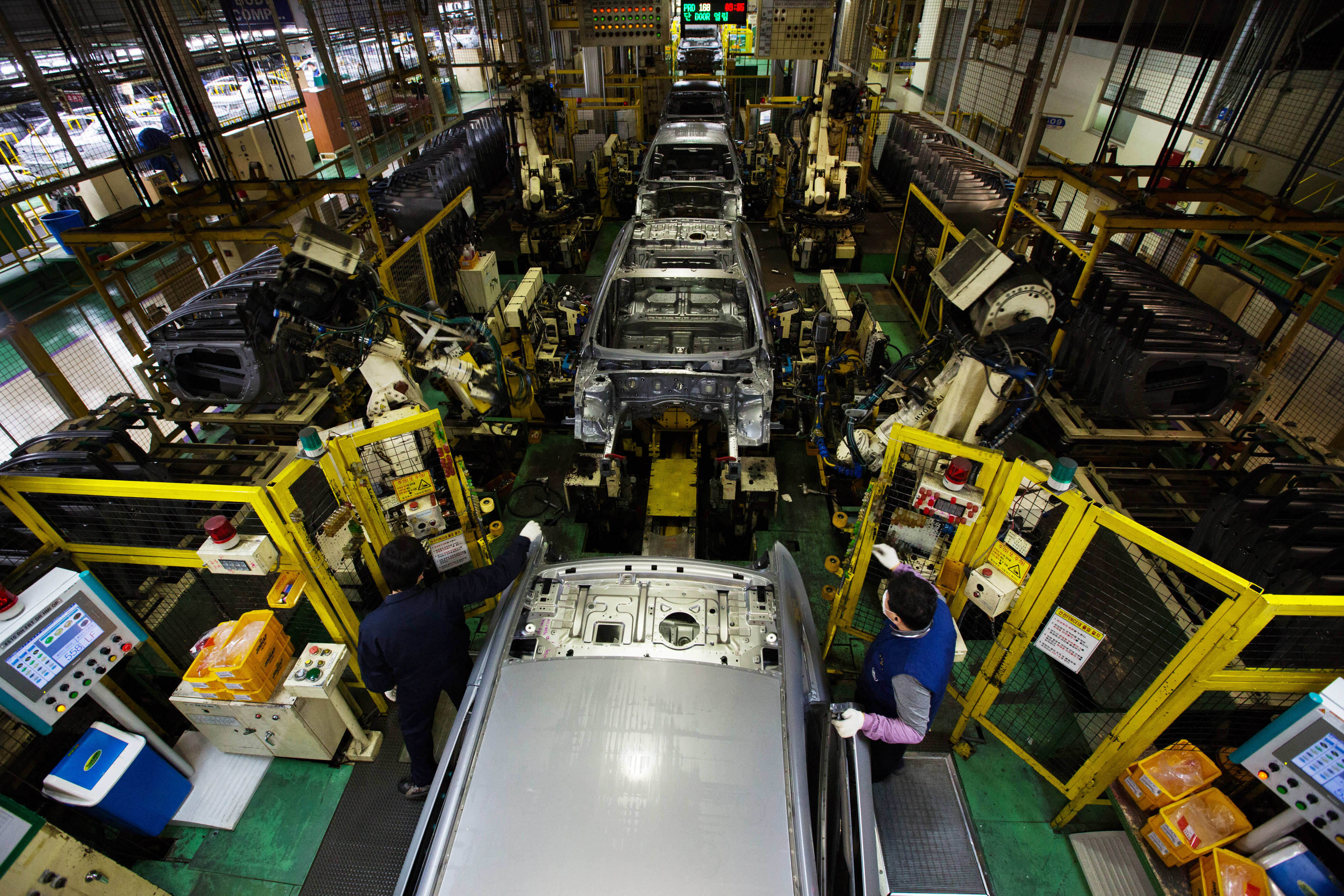 Inside A Hyundai Motor Co. Factory Ahead Of 4Q Earnings Results