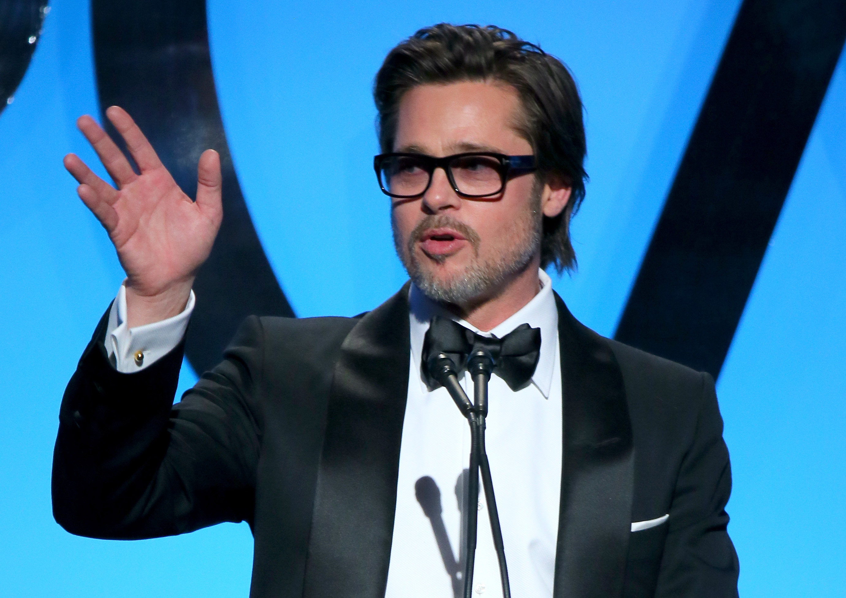 onstage during the 26th Annual Producers Guild Of America Awards at the Hyatt Regency Century Plaza on January 24, 2015 in Los Angeles, California.