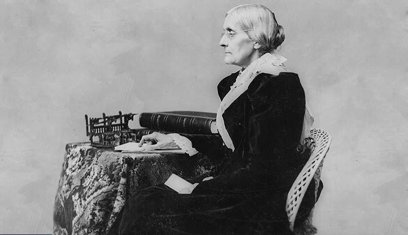 Suffragist Susan B. Anthony