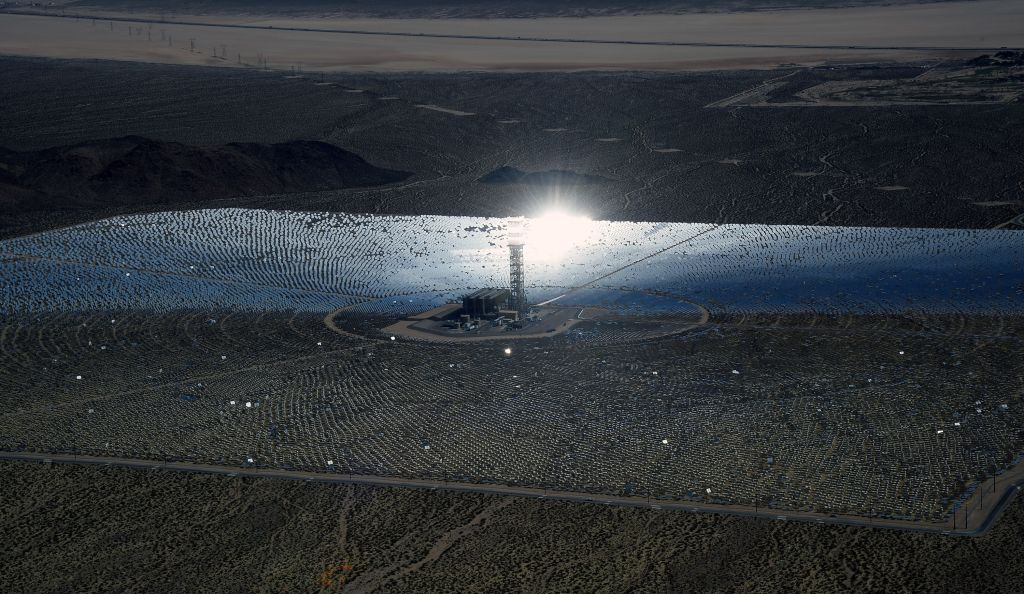 Massive Solar Electricity Plant Provides Power To California Homes