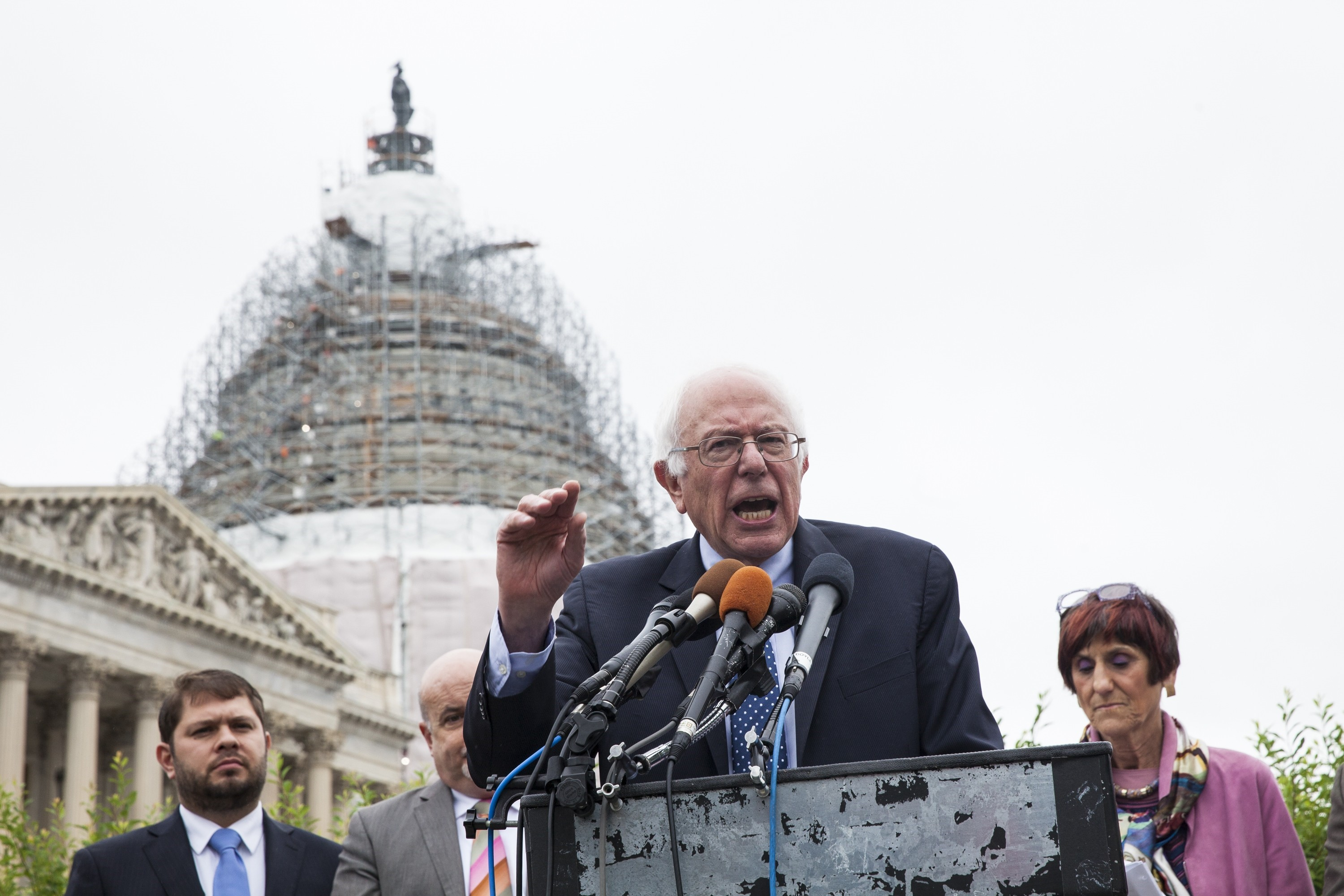 US Senator Bernie Sanders Speaks out against the TPA and TPP