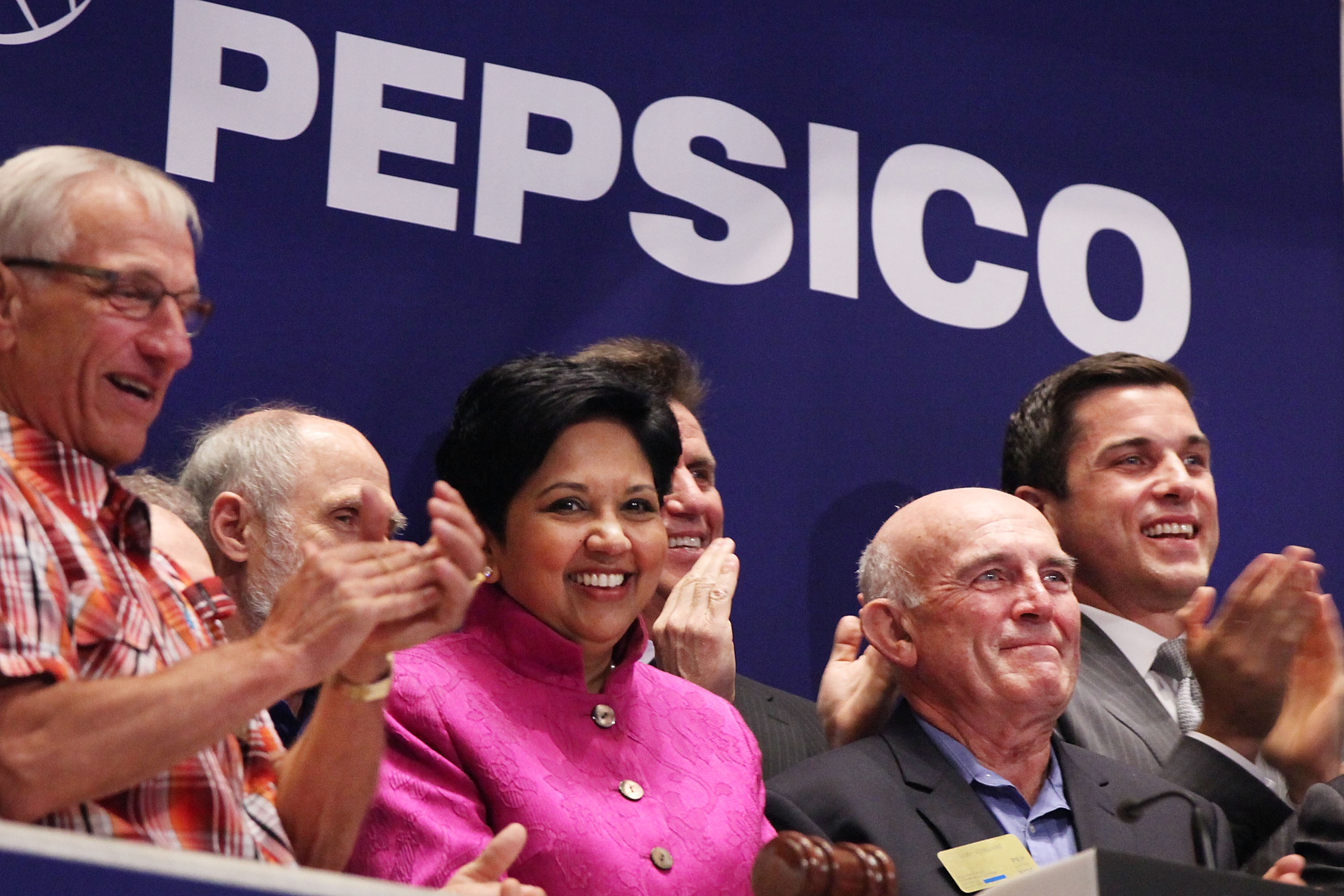PepsiCo Marks 50th Anniversary At New York Stock Exchange