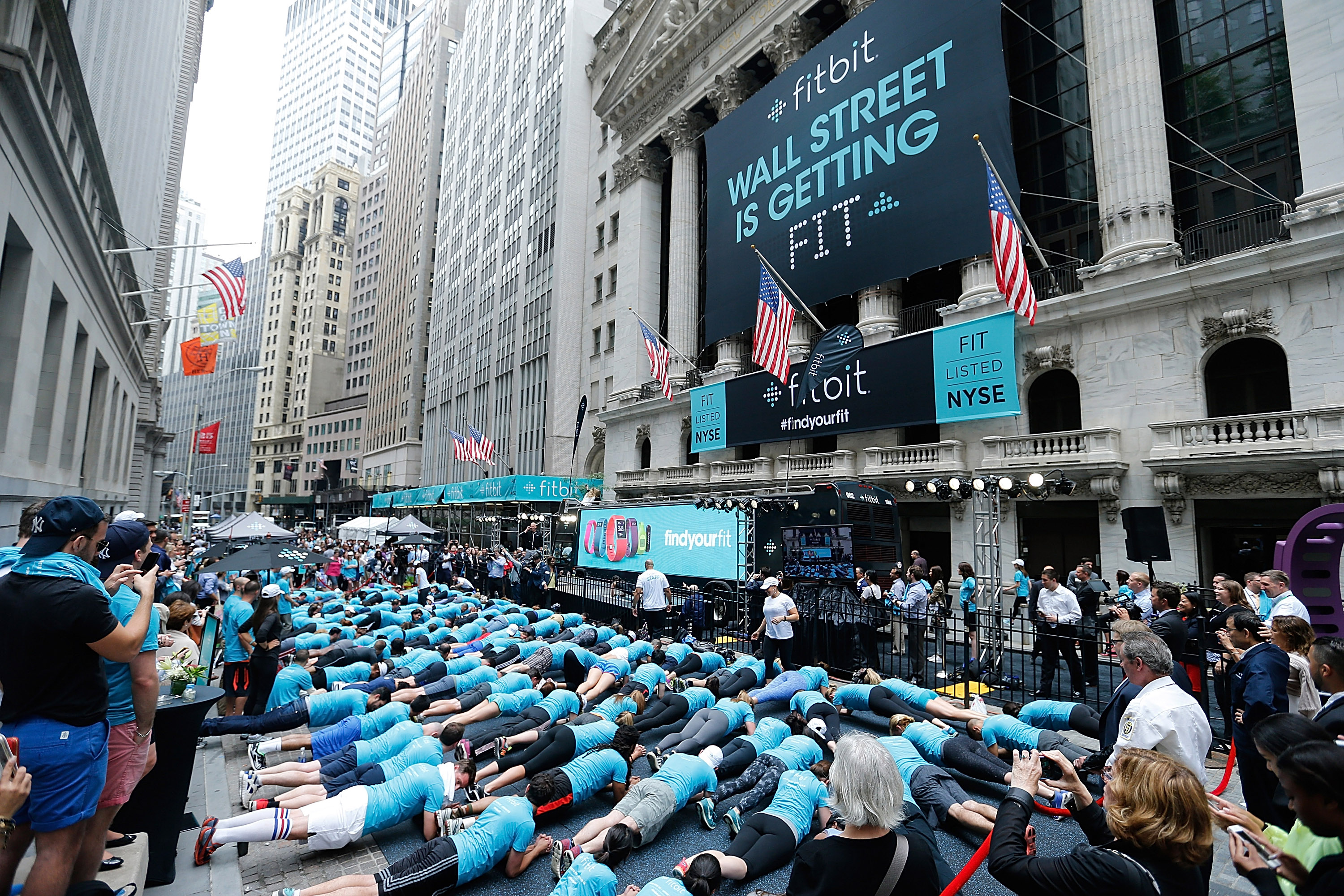 Fitbit IPO Celebration With Harley Pasternak