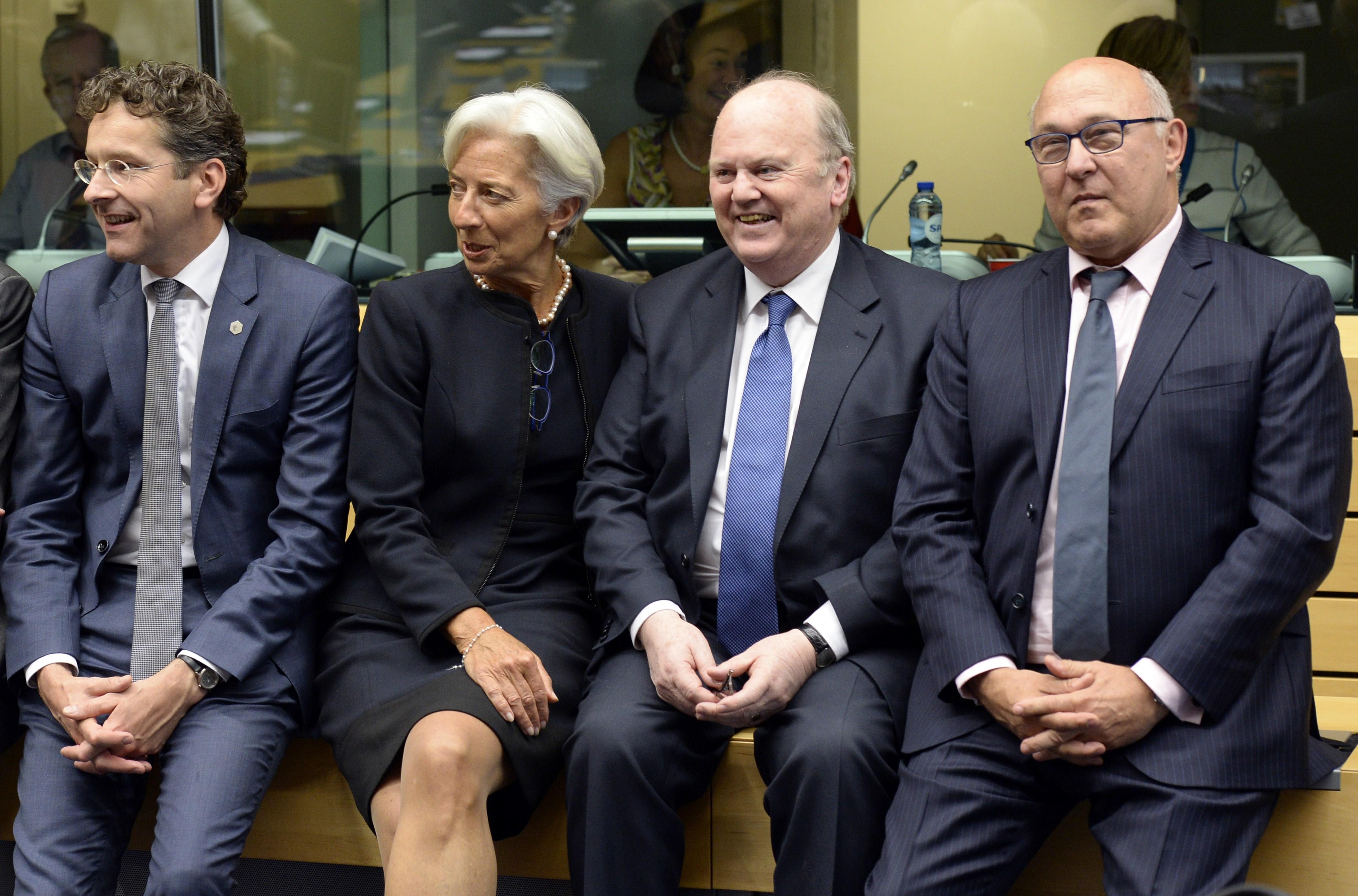 BELGIUM-GREECE-EU-EUROGROUP-MEETING
