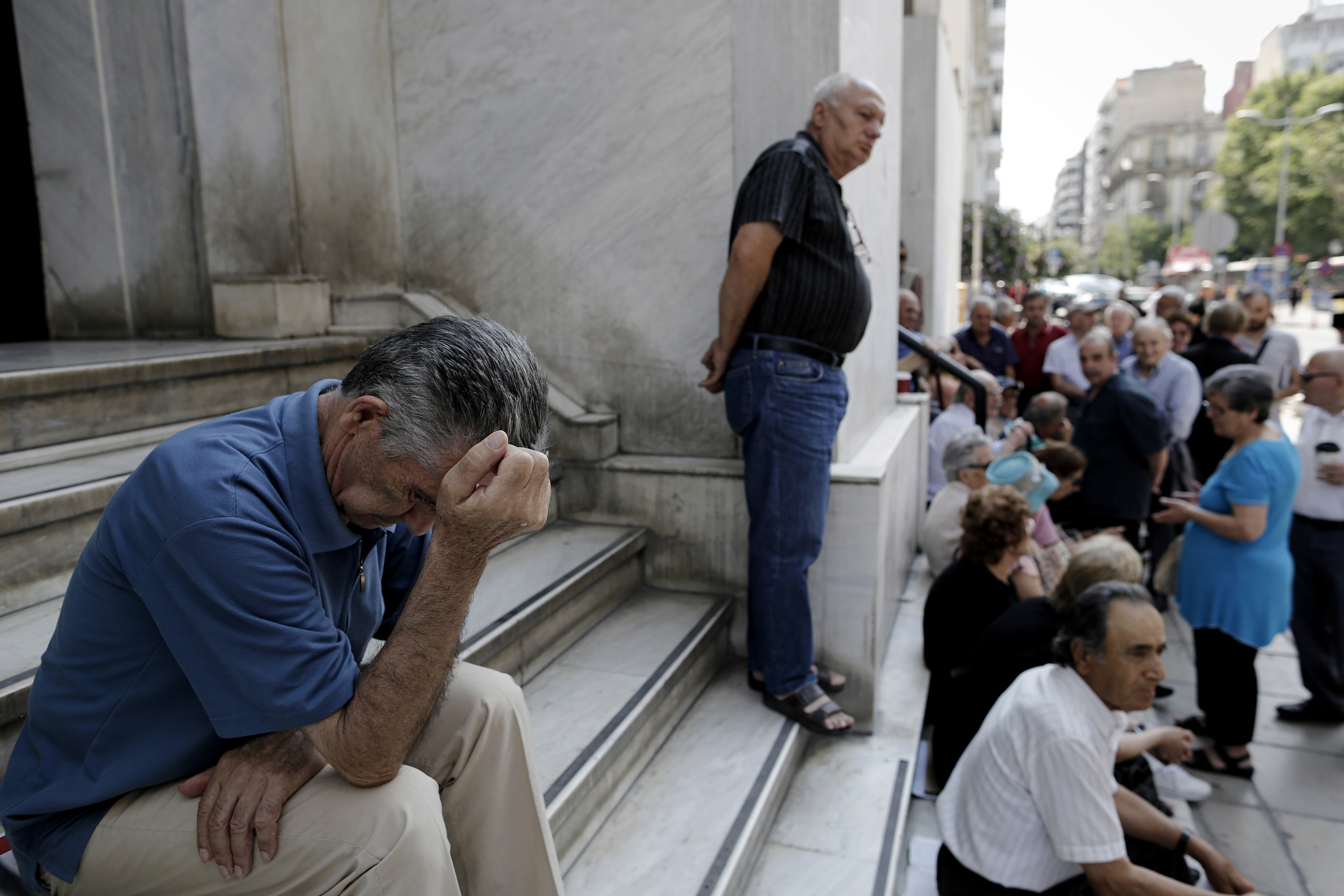 Reaction As Greece Imposes Capital Control