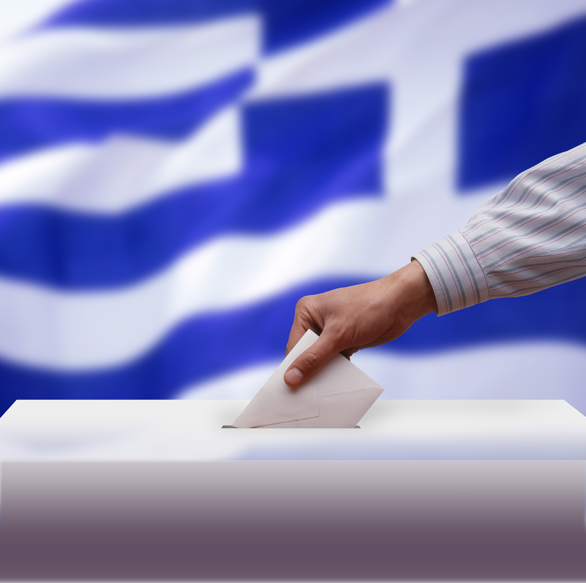 A Greek voter