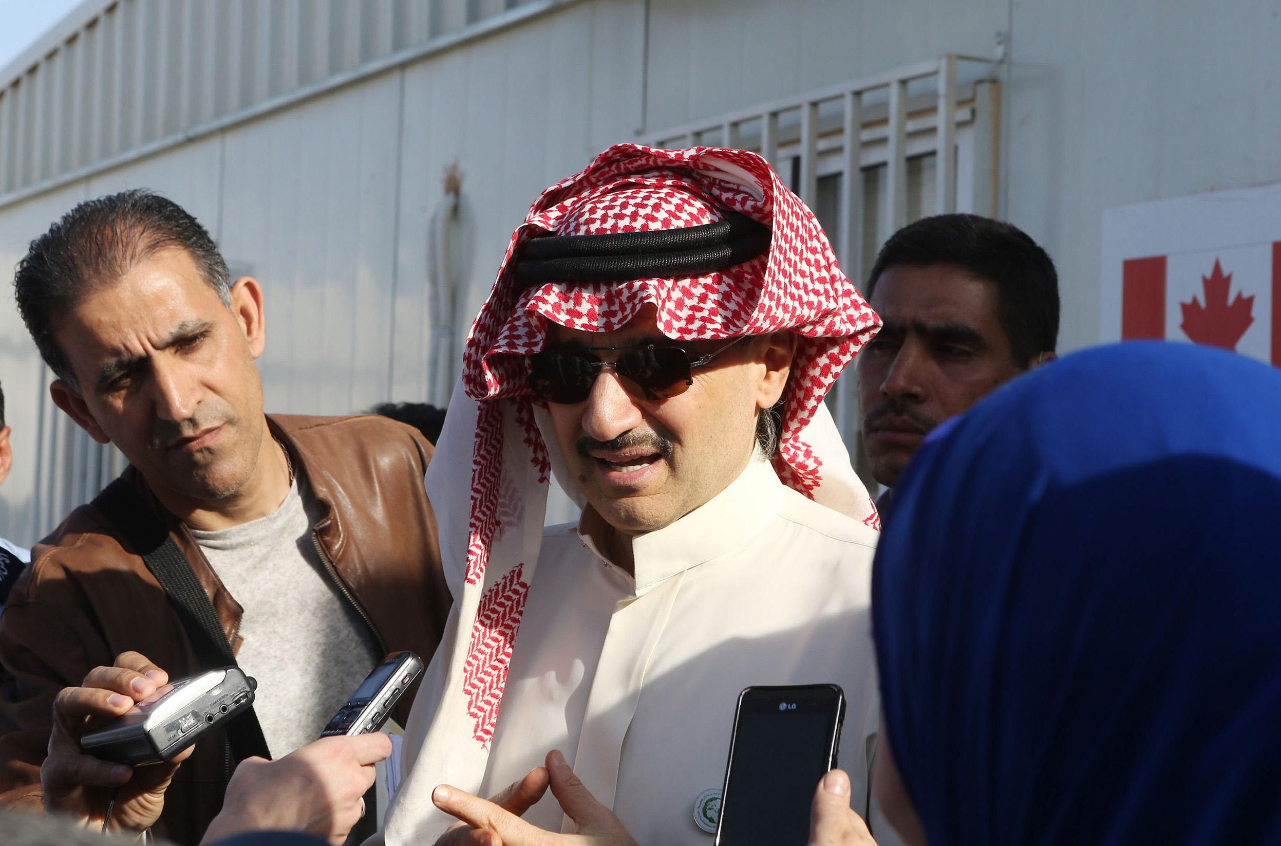 Al-Waleed bin Talal in Jordan