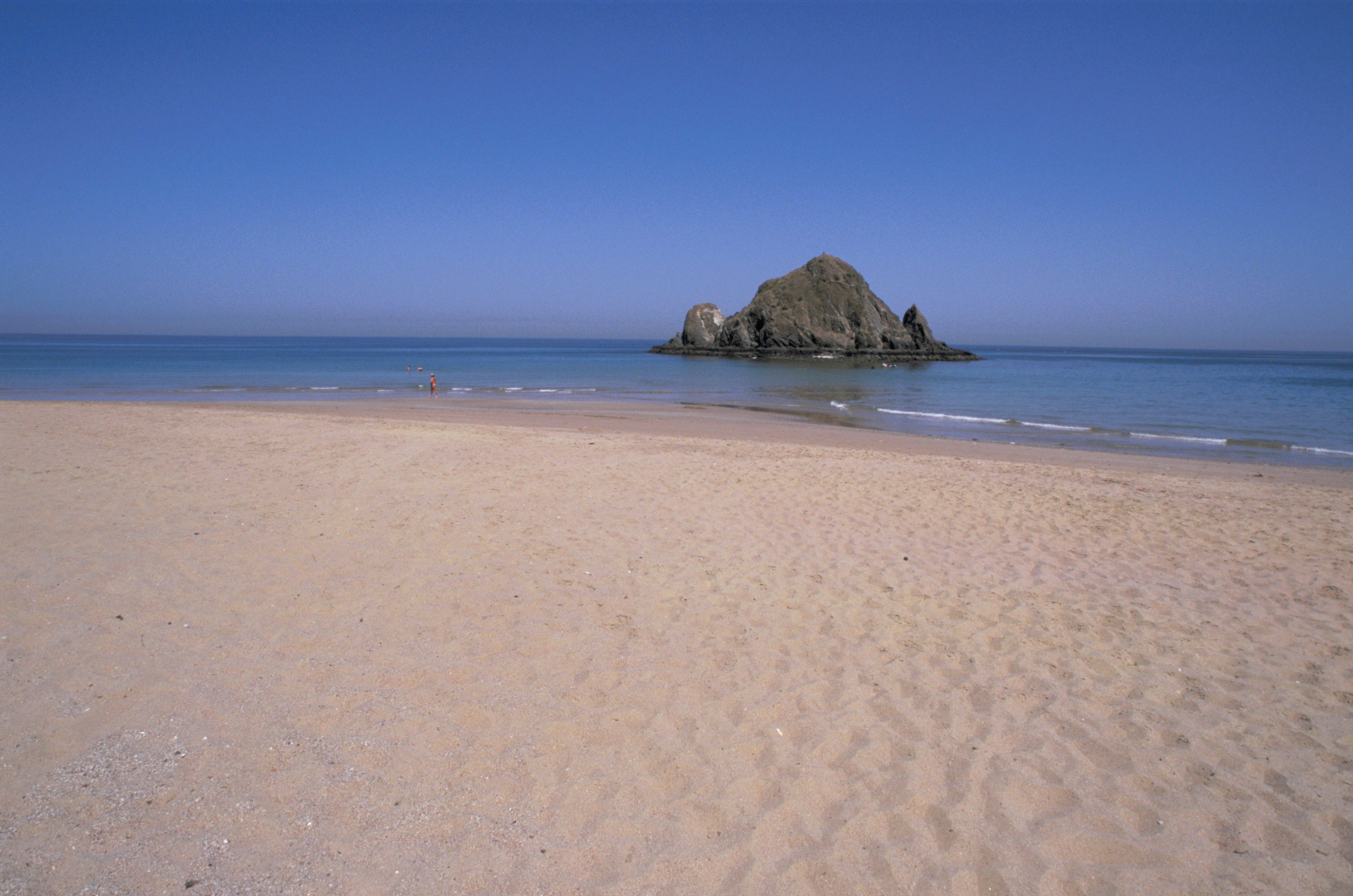 United Arab Emirates. Fujairah. Sandy Beach