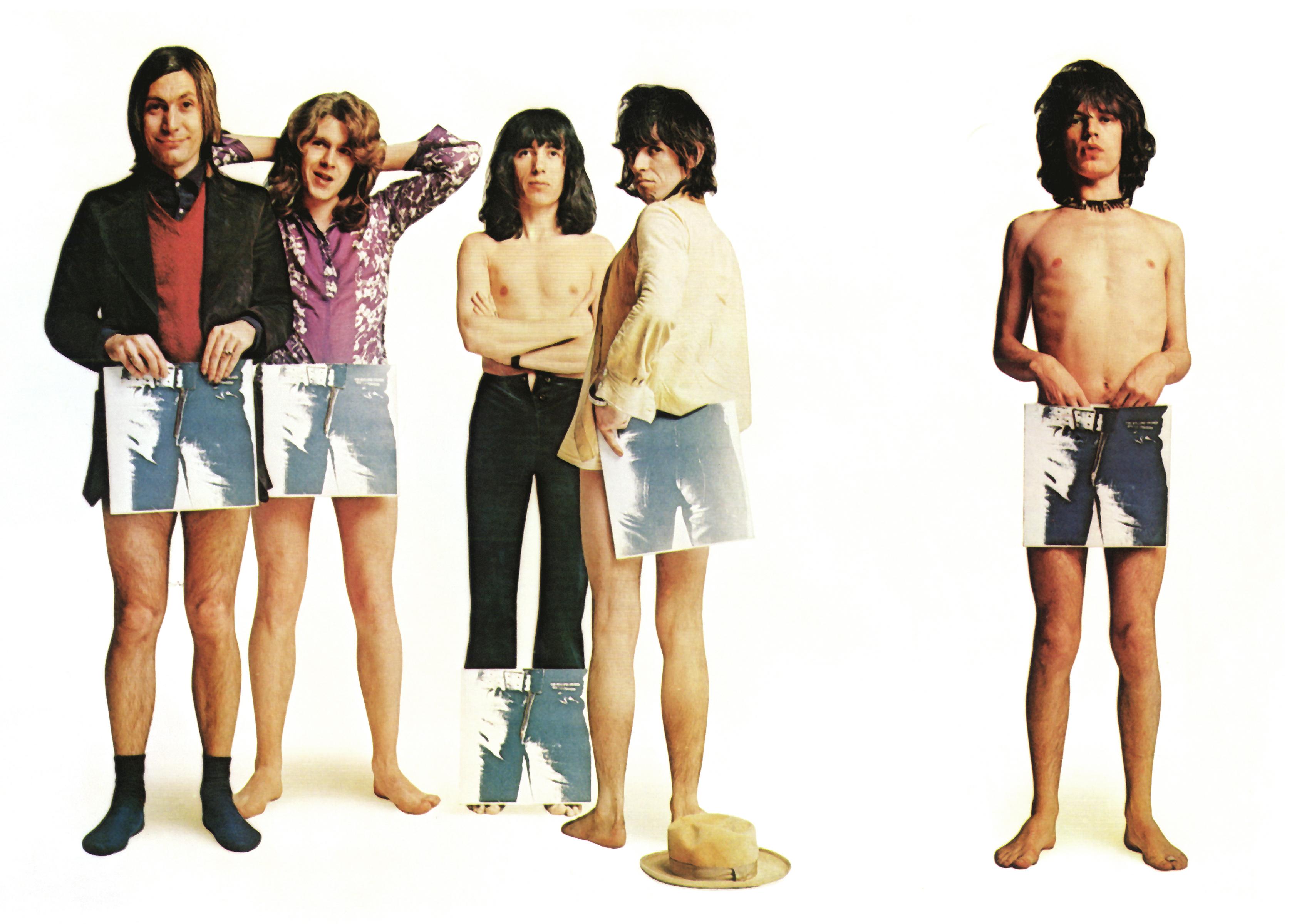 "Rolling Stones ""Sticky Fingers"" Promo Shot"