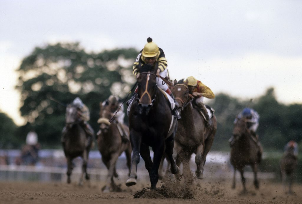 June 13, 1977:Belmont Stakes, Seattle Slew, Jean Grugent