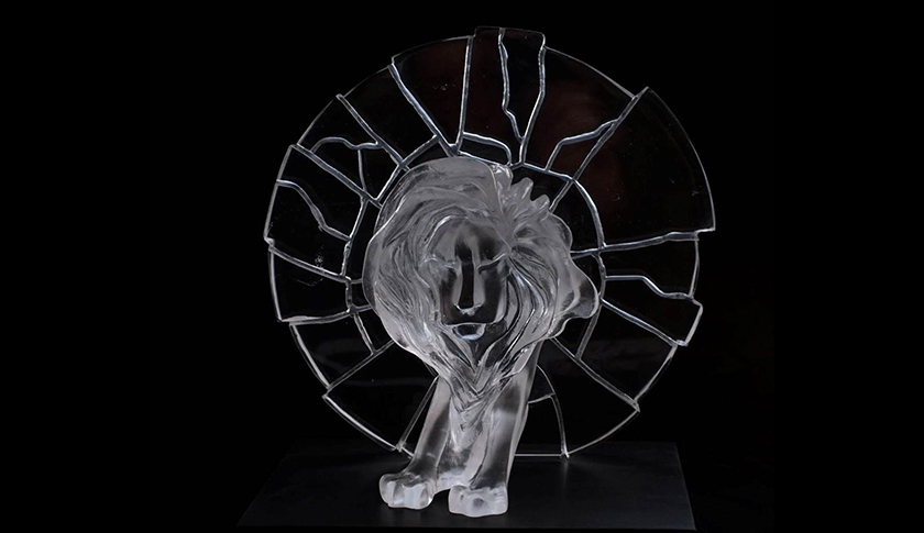 Cannes Glass Lion Trophy