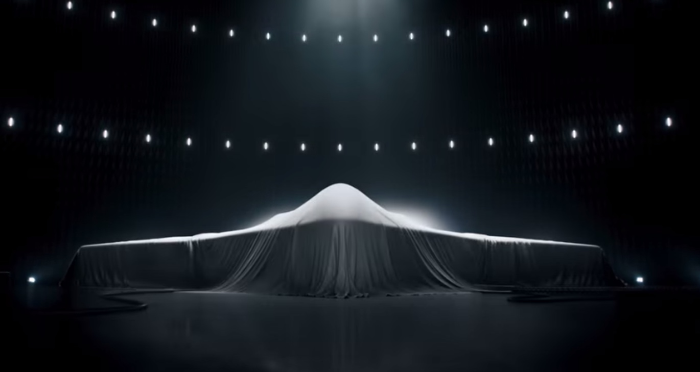 A Northrop Grumman ad aired during the Super Bowl teased at the defense contractor's design for the U.S. Air Forces Long-Range Strike Bomber program.