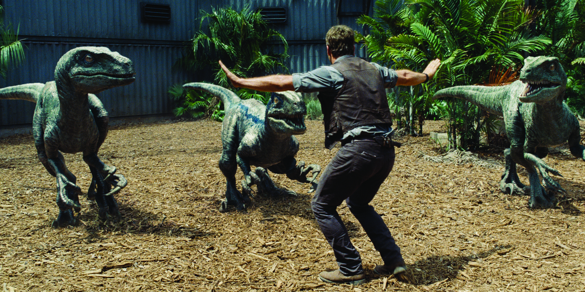 Chris Pratt in Jurassic World proves that three sequels and reboots are better than one.