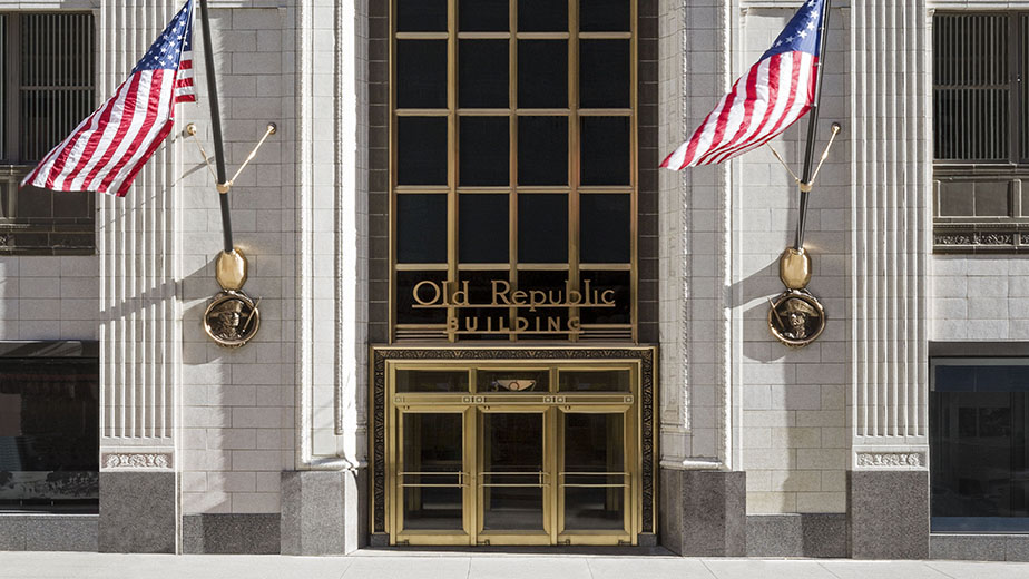 Old Republic International's headquarters in Chicago, Illinois.