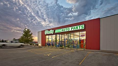 O'Reilly Automotive storefront.