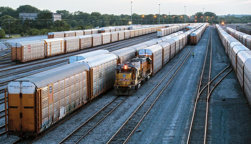 Union Pacific railroads operations in Kansas City