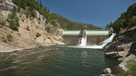 Cresta Diversion DamFeather River CanyonNorthern Region110727-1425