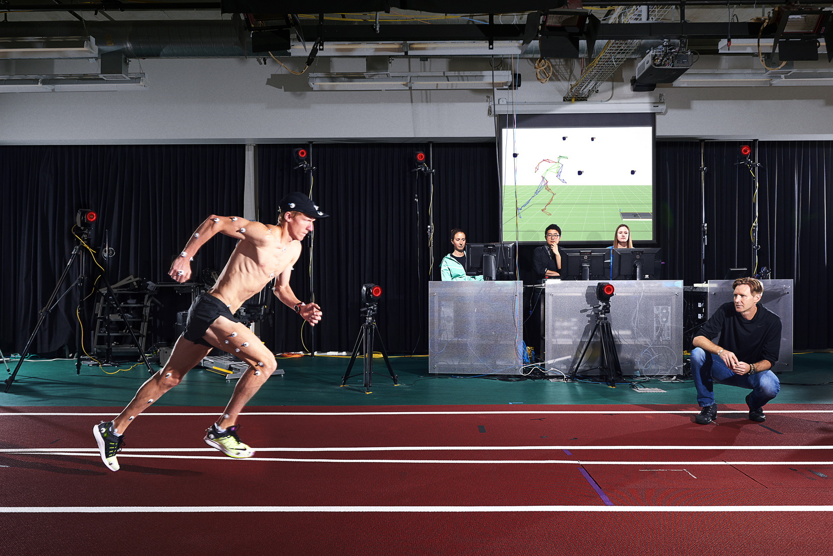 Nike Sports Research Lab. Runner