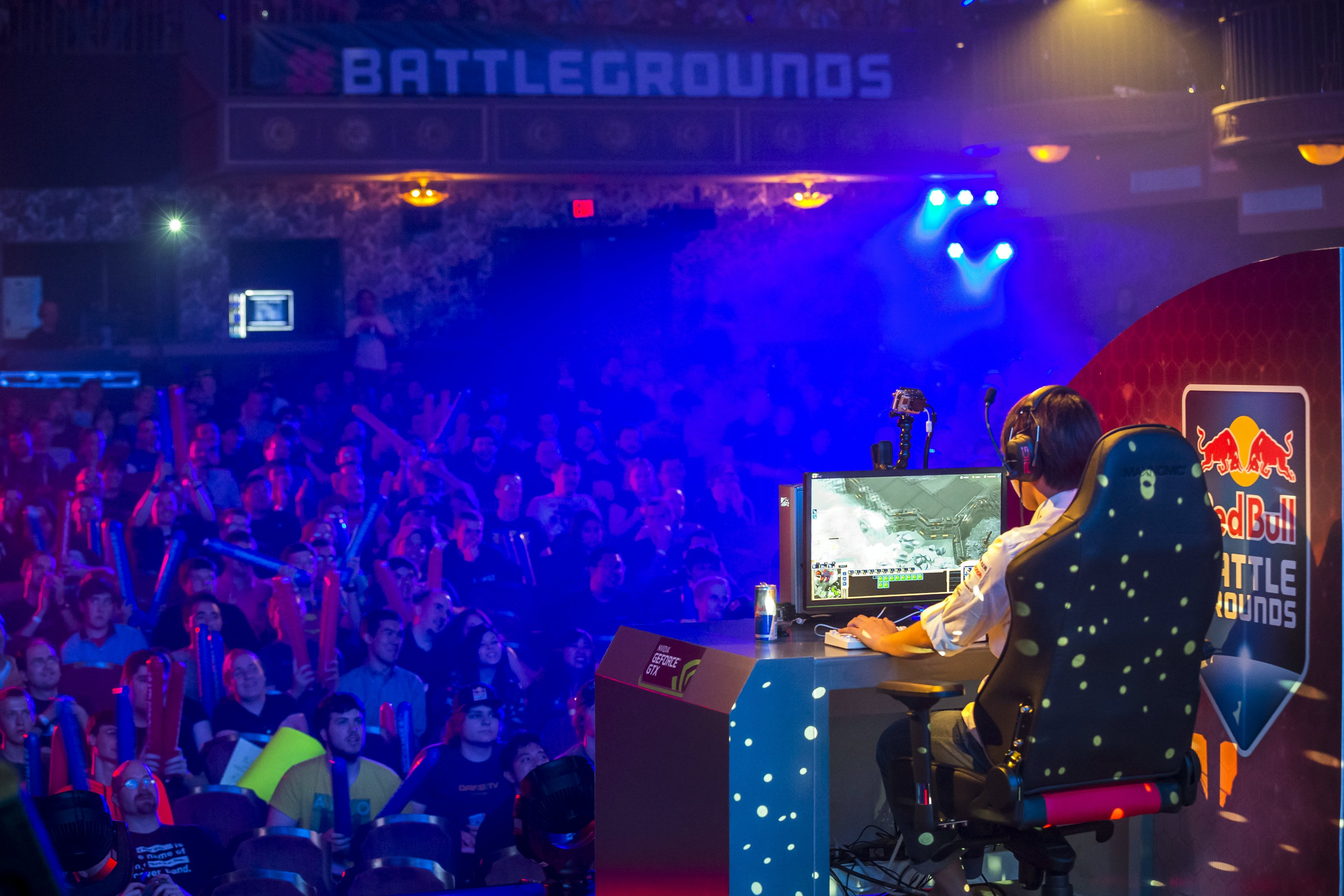 Red Bull has sponsored its own Halo, StarCraft II and Dota 2 eSports tournaments