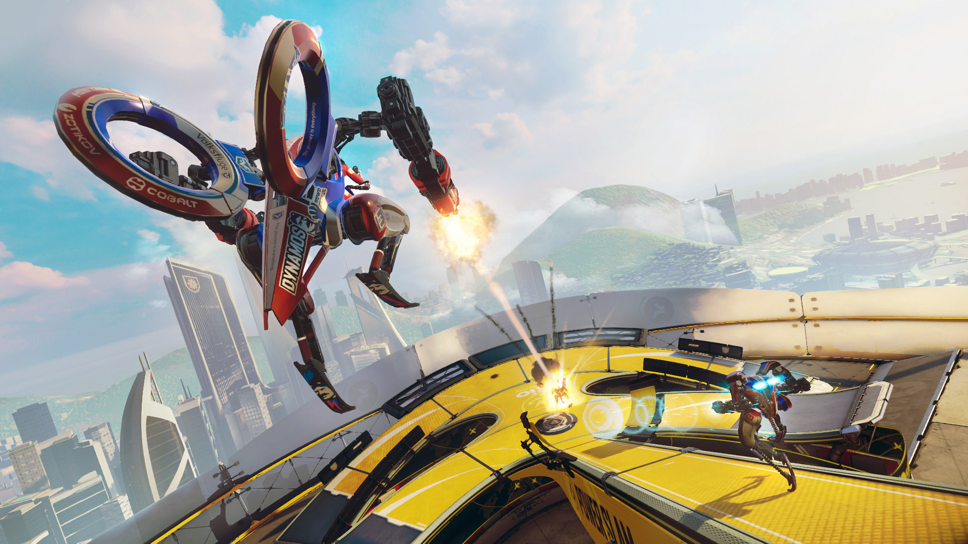 Sony Morpheus VR brings  3 vs. 4 Mech combat to life in Rigs.