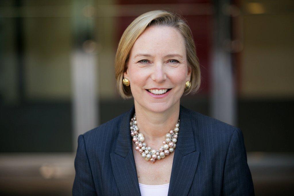 Sandi Peterson, group worldwide chairman of Johnson & Johnson