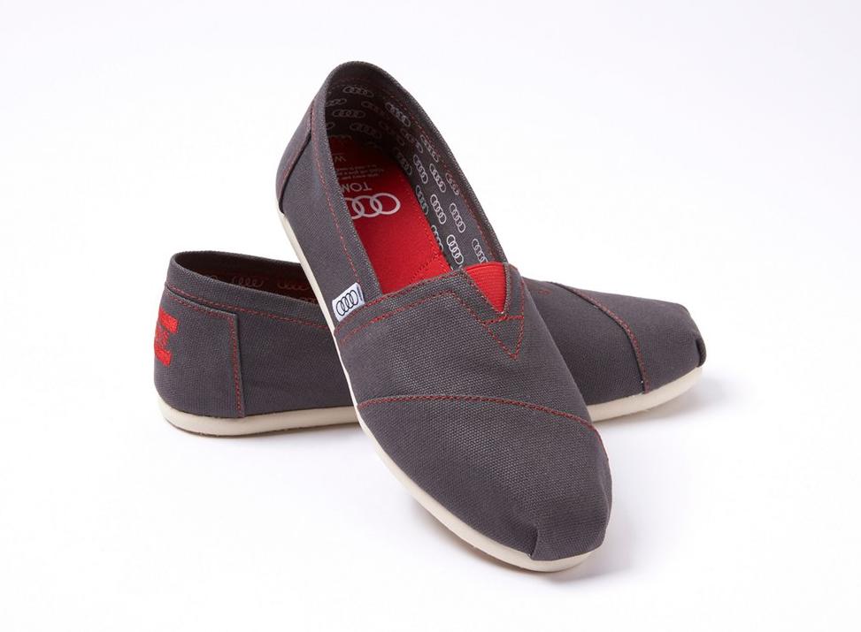 Audi Toms Shoes 2015