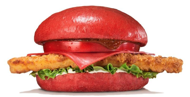 Burger King Red Cheeseburger