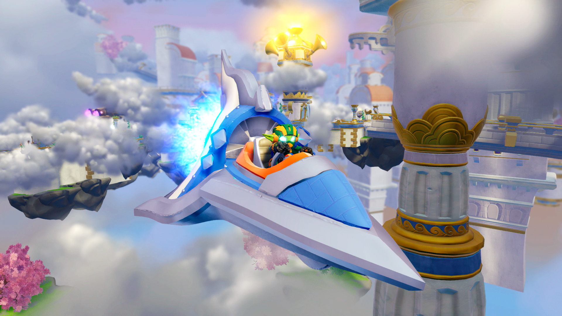 Activision and Vicarious Visions introduce vehicles to Skylanders franchise.
