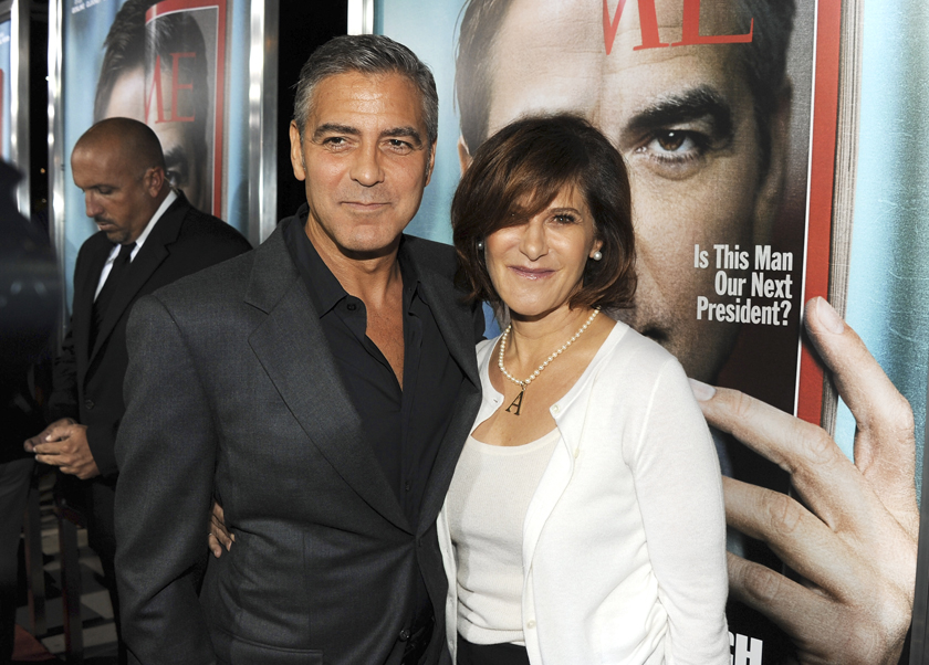 George Clooney, Amy Pascal, Sony