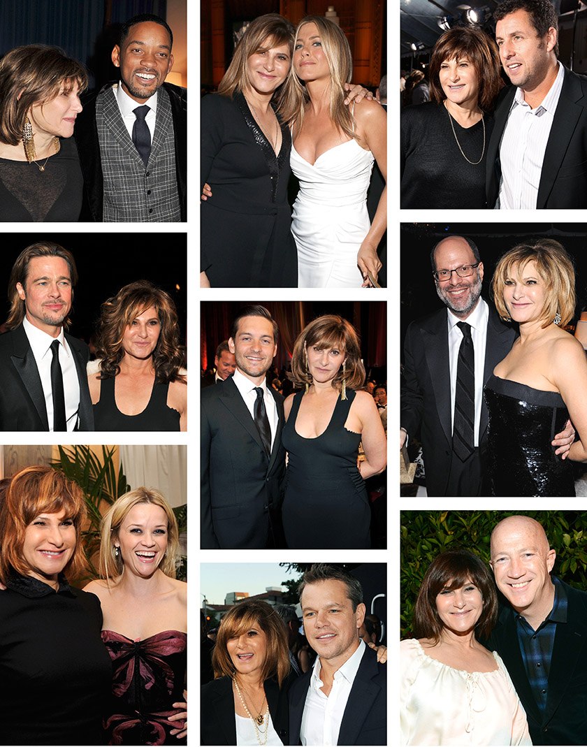 Amy Pascal, Sony, Will Smith, Jennifer Aniston, Adam Sandler, Brad Pitt, Tobey Maguire; Scott Rudin, Reese Witherspoon, Matt Damon, Bryan Lourd