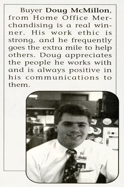 Walmart CEO Doug McMillon 1993