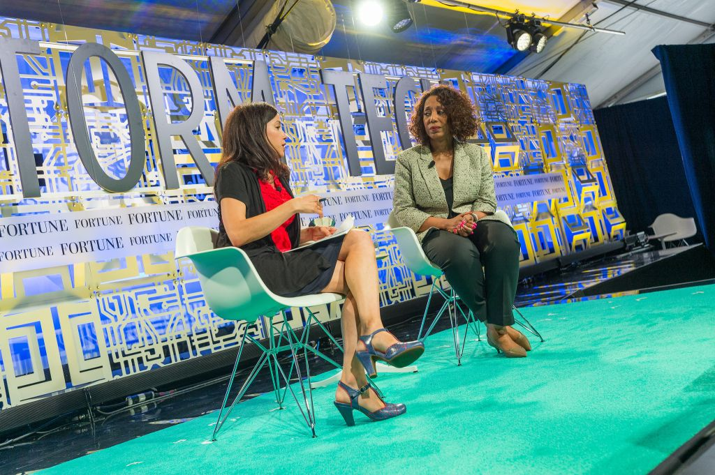 Denise Young Smith, Vice President, Worldwide Human Resources, Apple Interviewer: Michal Lev-Ram, Fortune