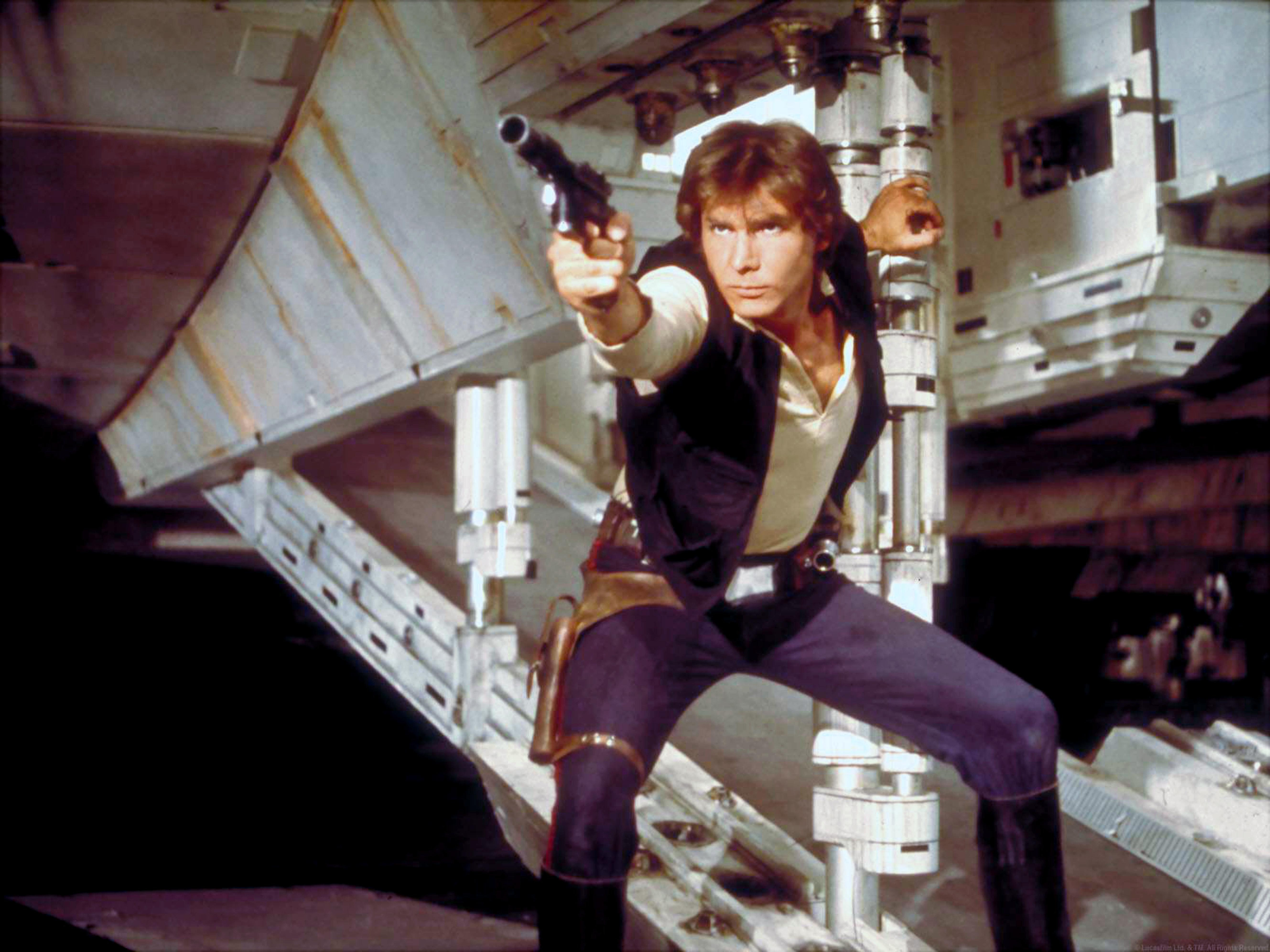 Han Solo goes solo