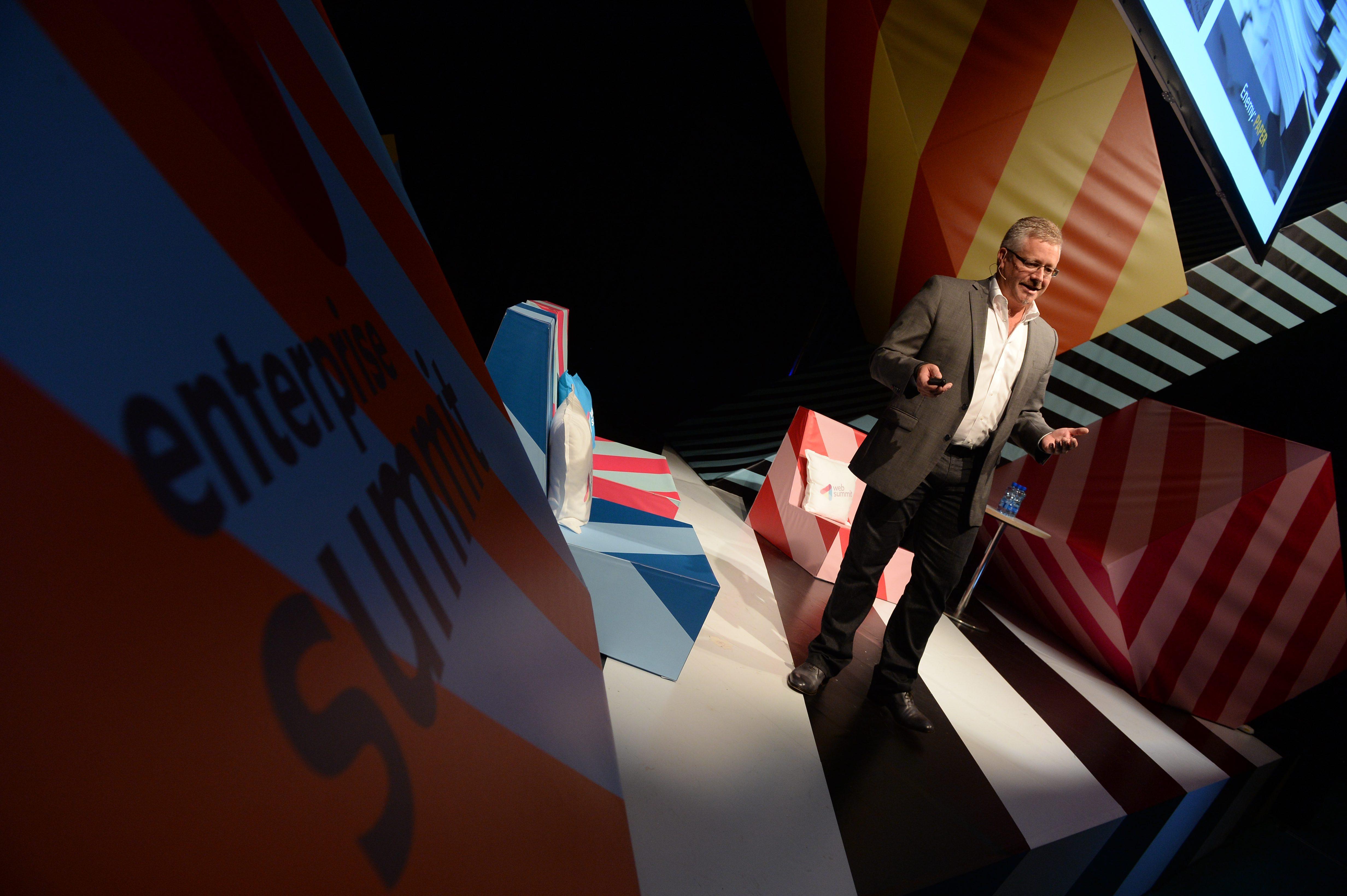 2014 Web Summit - Day 2 - Enterprise Stage