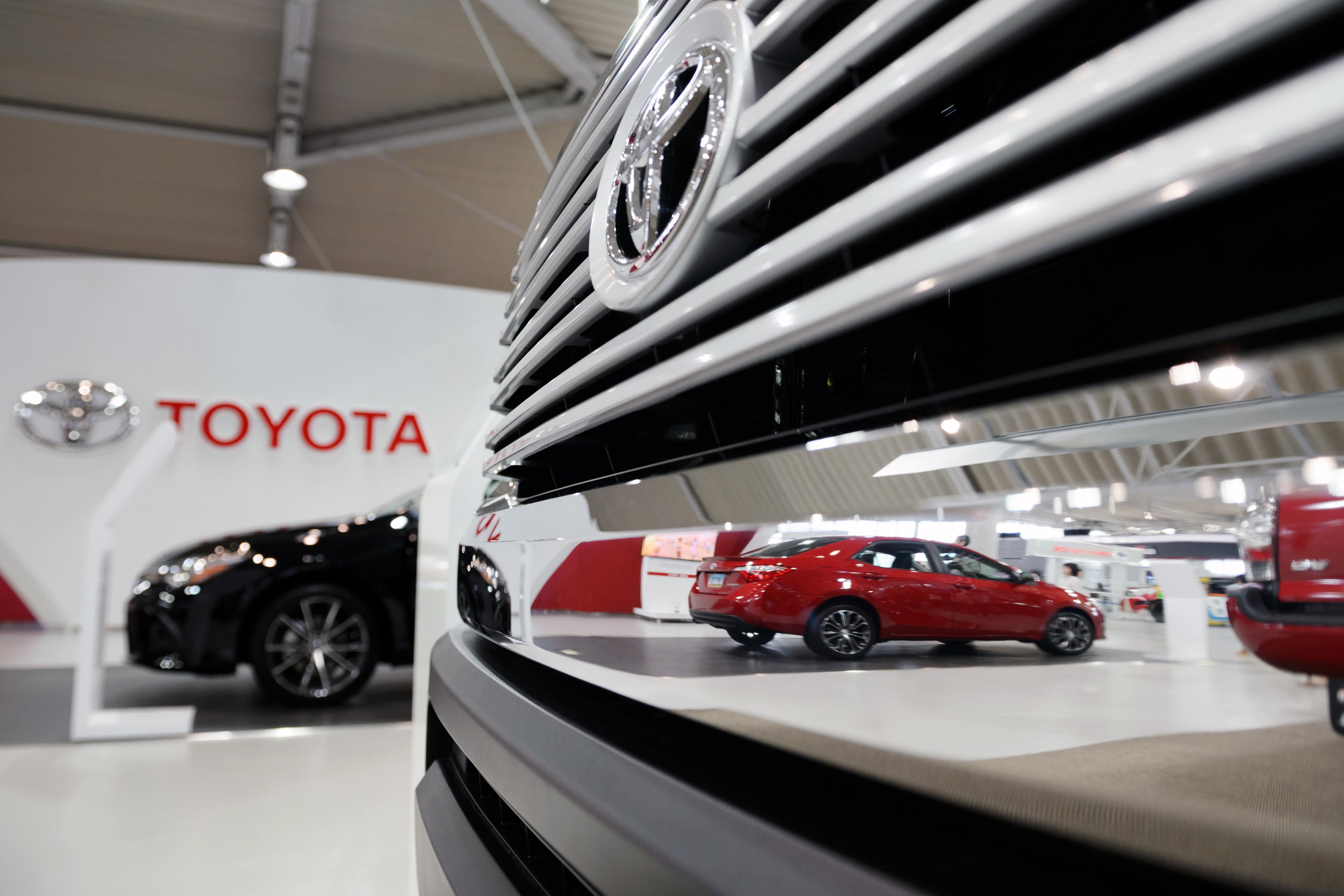 Inside The Toyota Megaweb Showroom Ahead Of Company Earnings