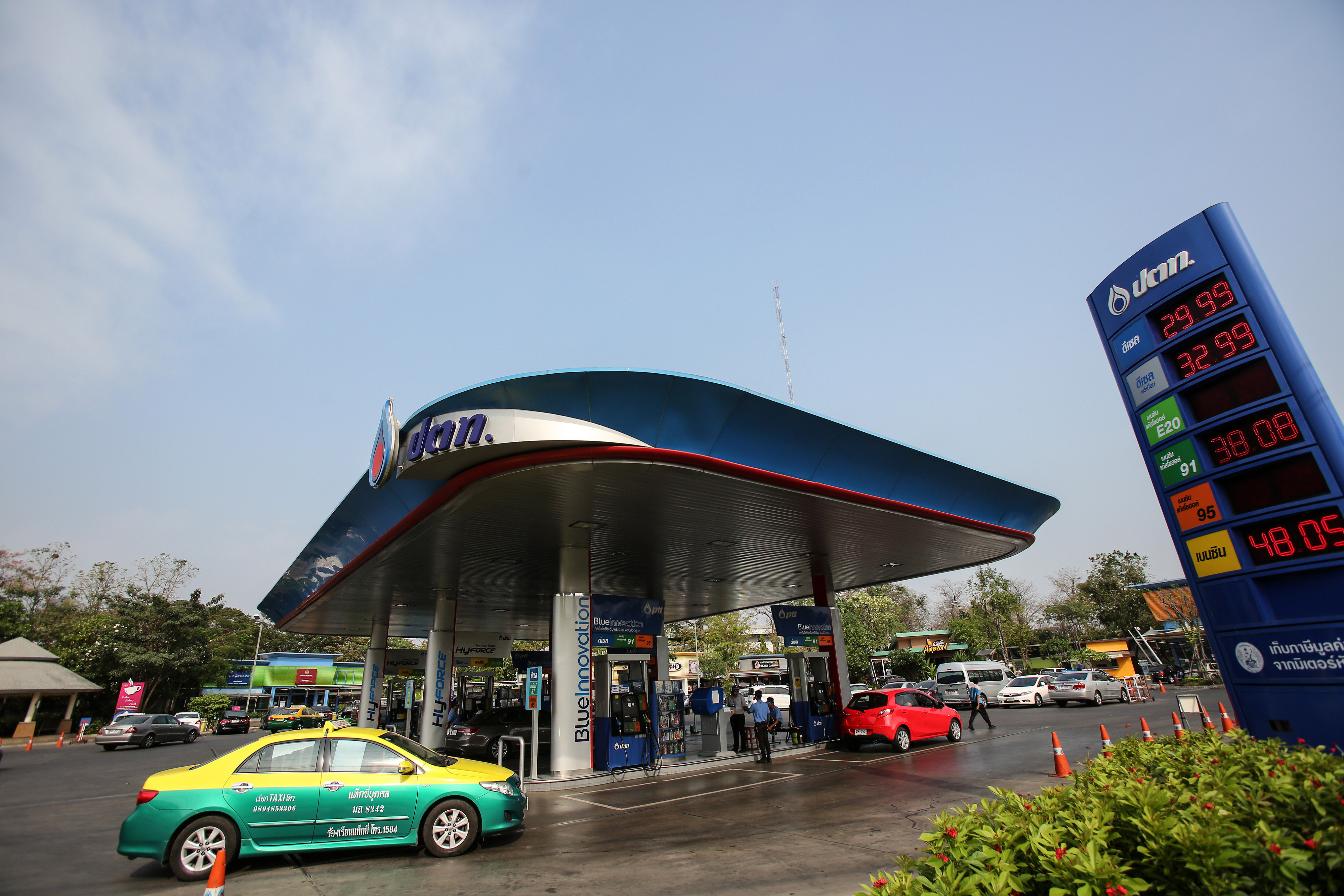 PTT Pcl Gas Stations Ahead Of Full-Year Earnings