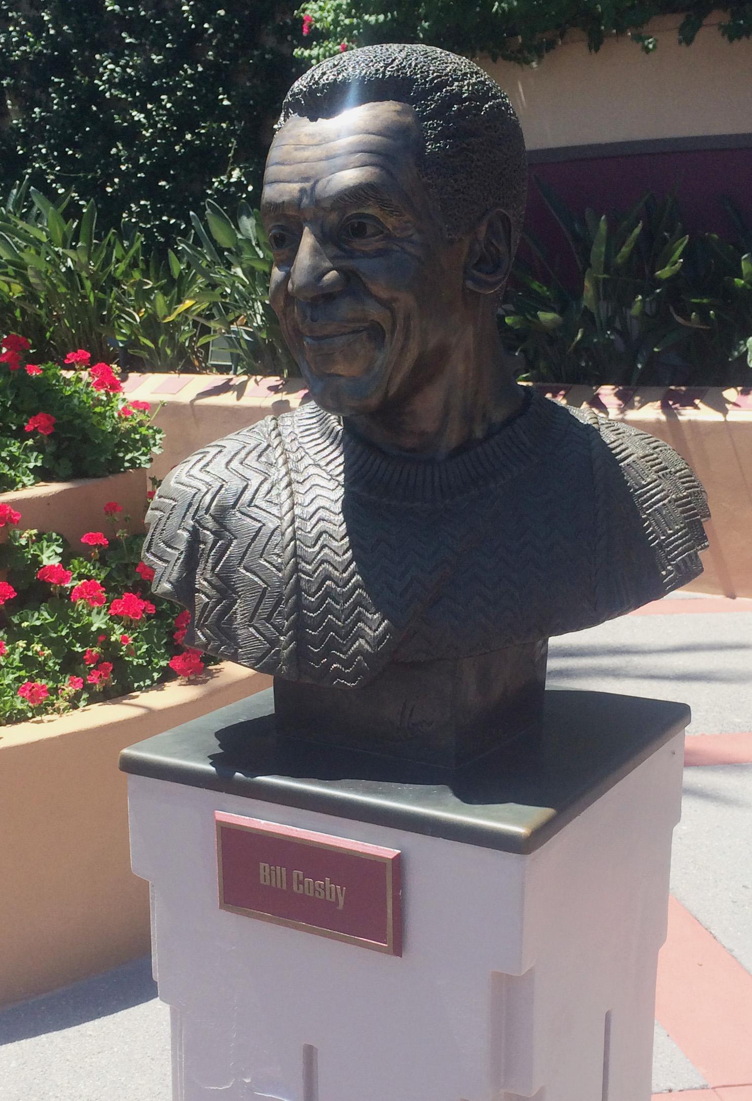 Bill Cosby bust
