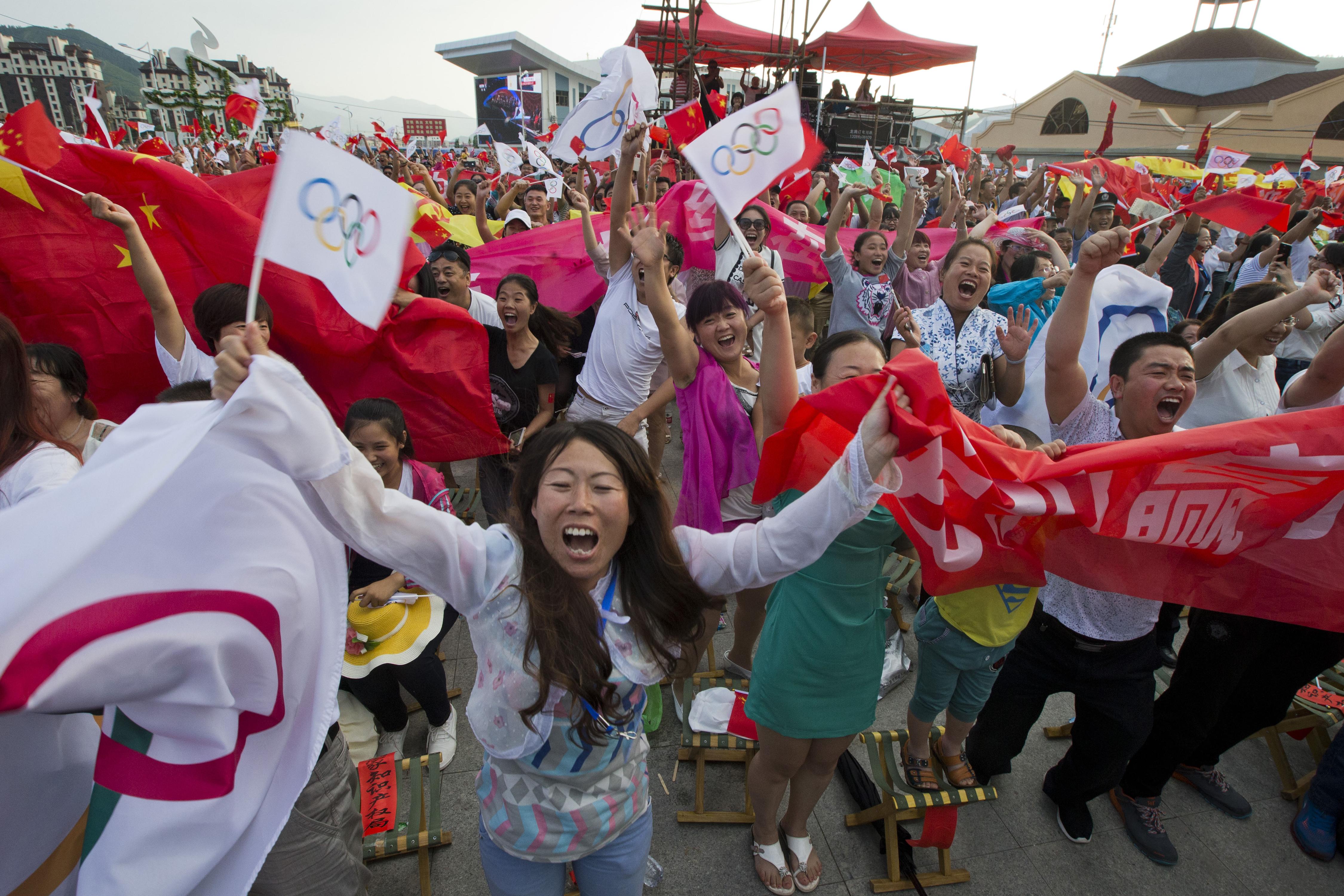 APTOPIX China Olympics IOC 2022 Vote
